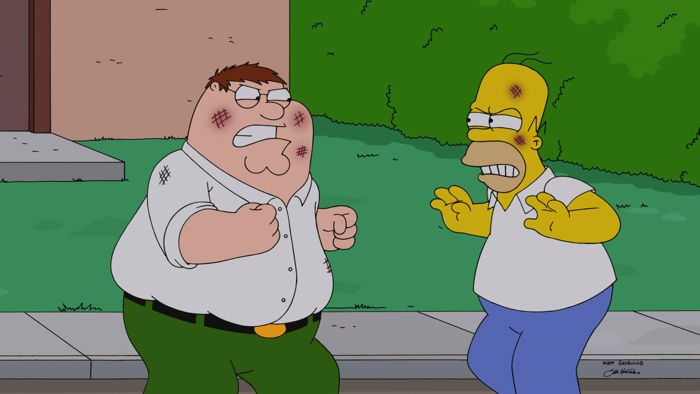 Family Guy The Simpsons Crossover Episode 14