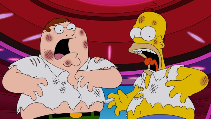 Family Guy The Simpsons Crossover Episode 13