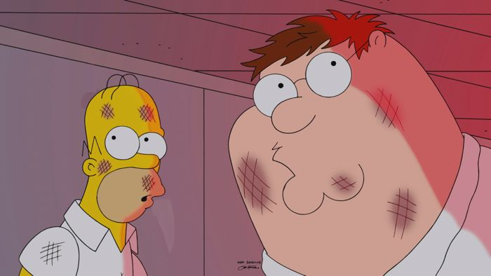 Family Guy The Simpsons Crossover Episode 11