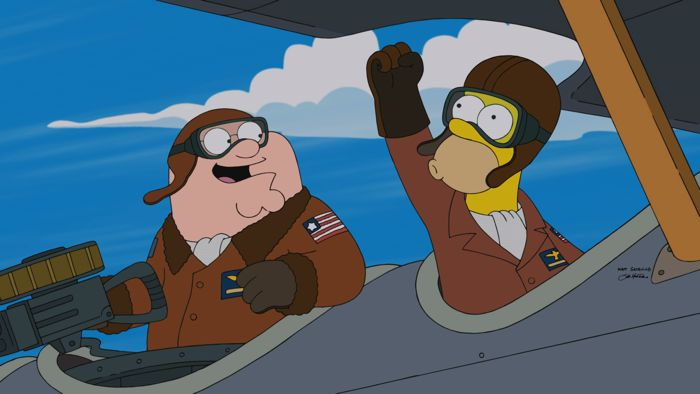 Family Guy The Simpsons Crossover Episode 10