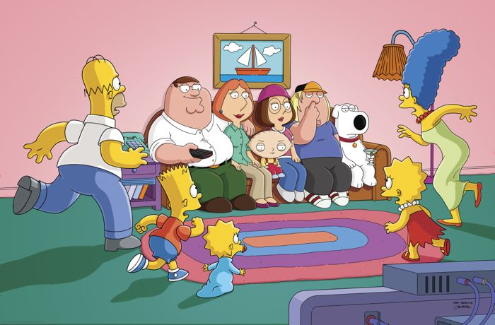 Family Guy The Simpsons Crossover Episode 08