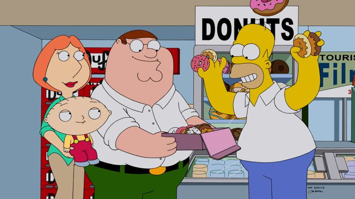 Family Guy The Simpsons Crossover Episode 07
