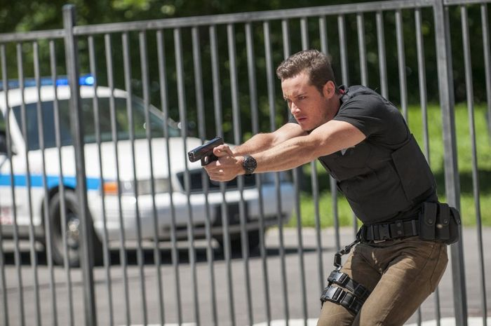 """CHICAGO P.D. -- """"Call it Macaroni"""" Episode 201 -- Pictured: Jesse Lee Soffer as Jay Halstead"""