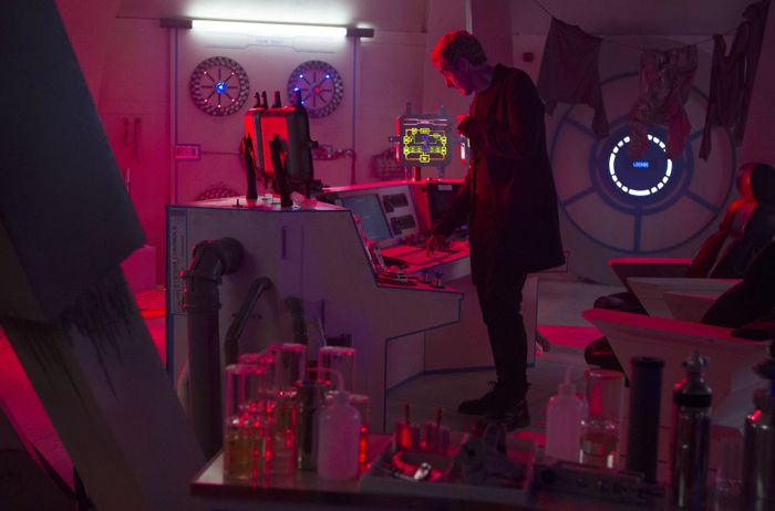 Doctor Who, Season 8, Episode 4, the Doctor (Peter Capaldi)