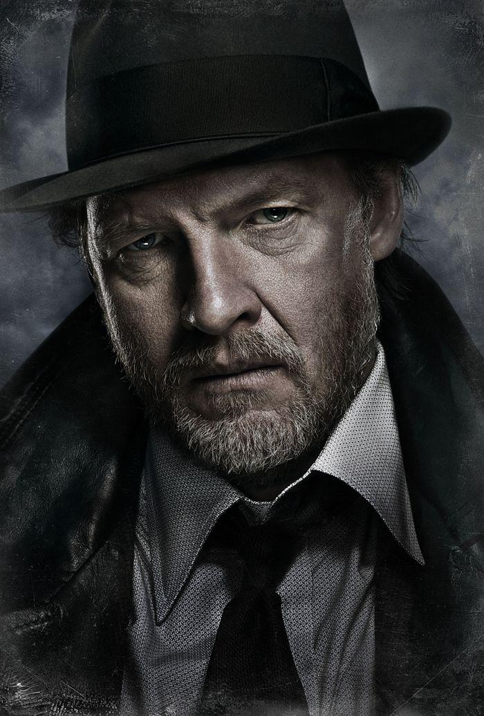 Donal Logue as Harvey Bullock Gotham