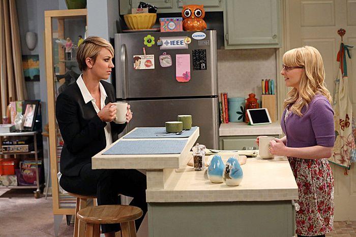 Penny New Haircut The Big Bang Theory