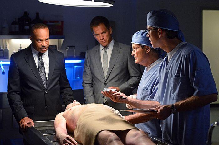 Rocky Carroll, Michael Weatherly, David McCallum and Brian Dietzen NCIS Season 12