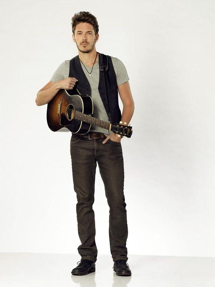 """Nashville"" stars Sam Palladio as Gunnar Scott"