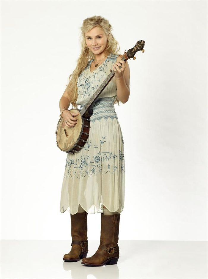 """Nashville"" stars Clare Bowen as Scarlett O'Connor"