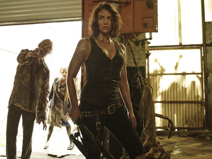 Lauren Cohan as Maggie Greene The Walking Dead Season 5