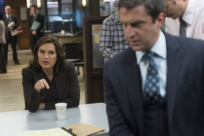 Mariska Hargitay as Sergeant Olivia Benson Law & Order: Special Victims  Unit - Season 16