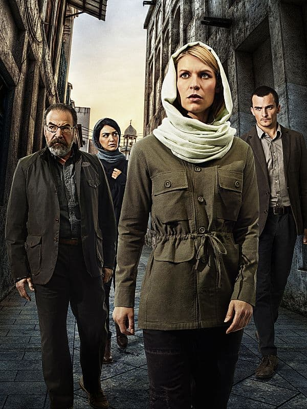 HOMELAND Cast Season 4