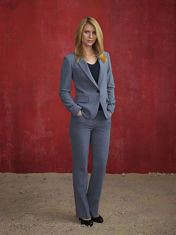 Claire Danes as Carrie Mathison in Homeland Season 4