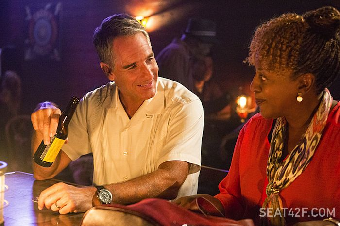 NCIS New Orleans Scott Bakula as Special Agent Dwayne Pride and CCH Pounder as Dr. Loretta Wade