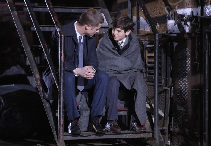 Ben McKenzie and David Mazouz Gotham Pilot