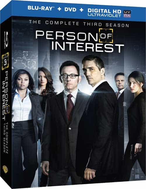 Person Of Interest Season 3 Bluray DVD