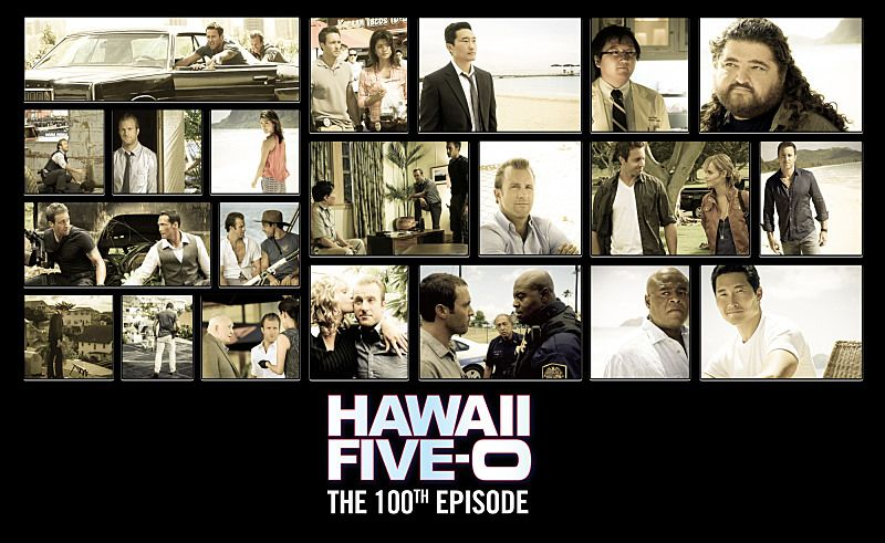 HAWAII FIVE 0 100th Episode Promo Poster