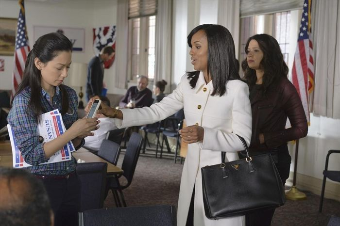 CERINA DA GRACA, KERRY WASHINGTON, KATIE LOWES