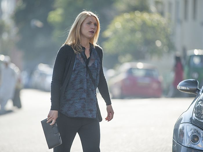 Claire Danes as Carrie Mathison in Homeland (Season 4, Episode 5)