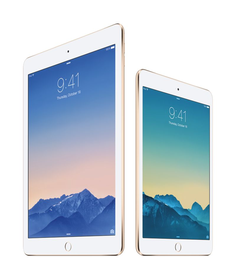 iPad Air 2 iPadMini 3
