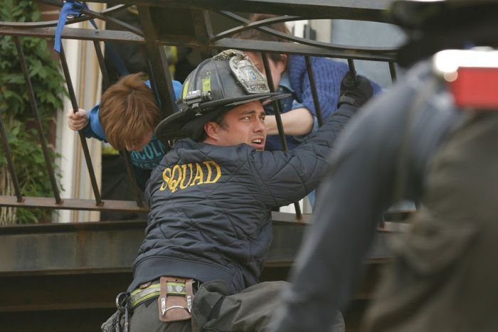 Taylor Kinney as Kelly Severide Chicago Fire Season 3