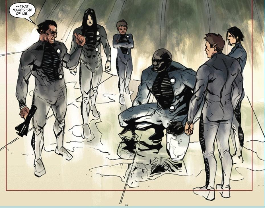 Dark Matter Comic