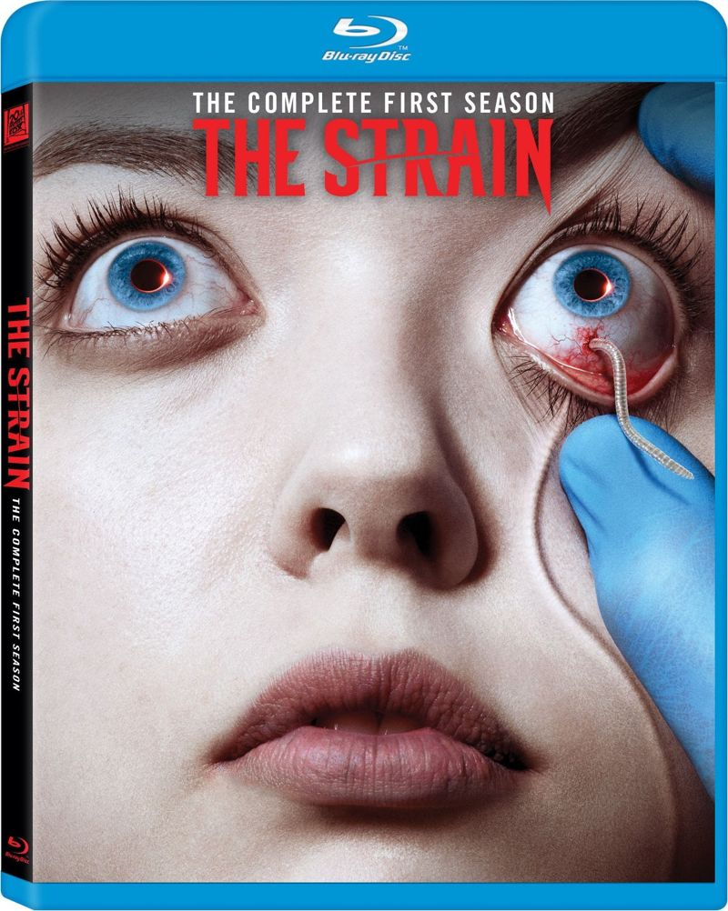 The Strain Bluray Cover