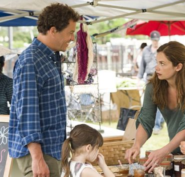 Dominic West as Noah and Ruth Wilson as Alison in The Affair (season 1, episode 2)