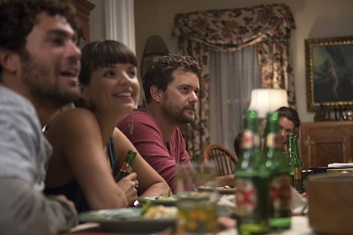 Danny Fischer as Hal, Kaija Matis as Mary-Kate and Joshua Jackson as Cole in The Affair