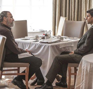 Mandy Patinkin as Saul Berenson and Raza Jaffrey as Aasar Khan in Homeland (Season 4, Episode 4)