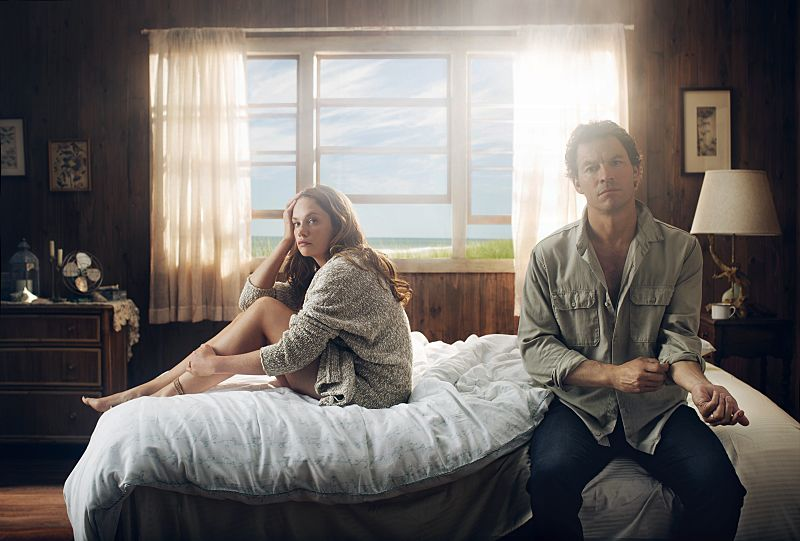 Ruth Wilson as Alison and Dominic West as Noah in The Affair (season 1). - Photo: Steven Lippman/SHOWTIME