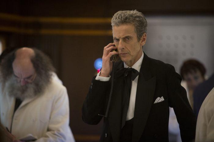 Doctor Who, Season 8, Episode 8, the Doctor (Peter Capaldi)