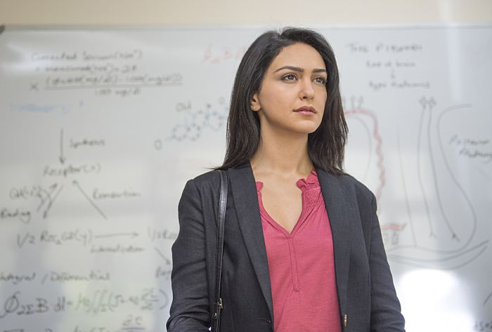 Nazanin Boniadi as Fara in Homeland (Season 4, Episode 3)