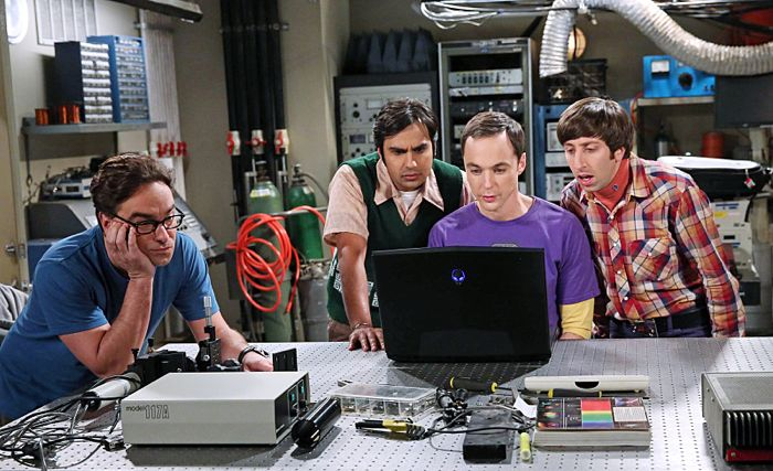 The Big Bang Theory The Focus Attenuation Johnny Galecki, Kunal Nayyar, Jim Parsons and Simon Helberg