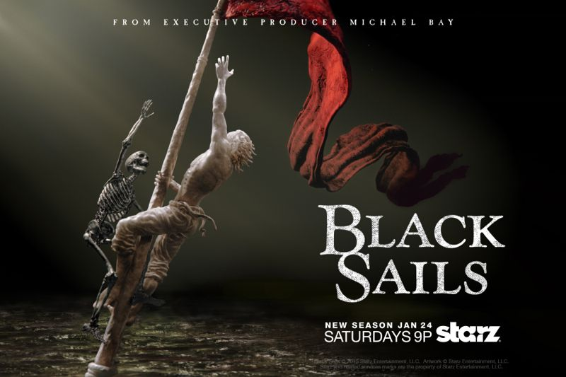 Black Sails Season 2 Poster Starz