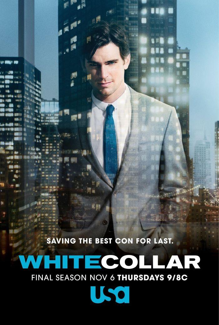 White Collar Season 6 Matt Bomer Poster 2