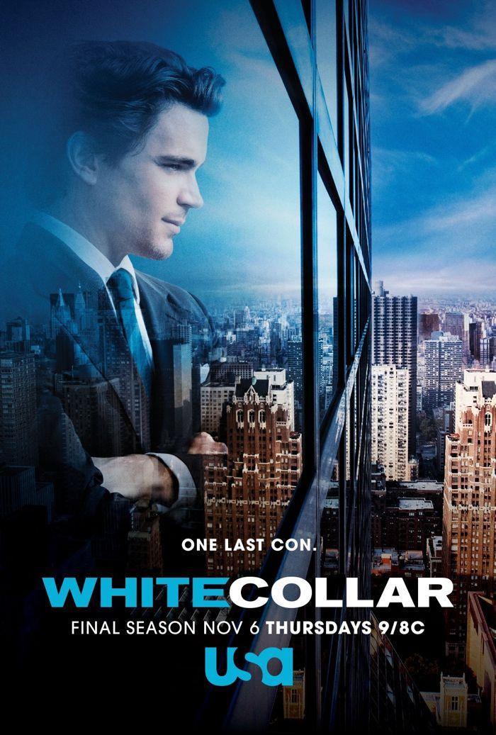 White Collar Matt Bomer Poster 1