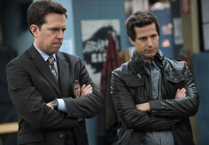 Brooklyn Nine Nine Andy Samberg Ed Helms