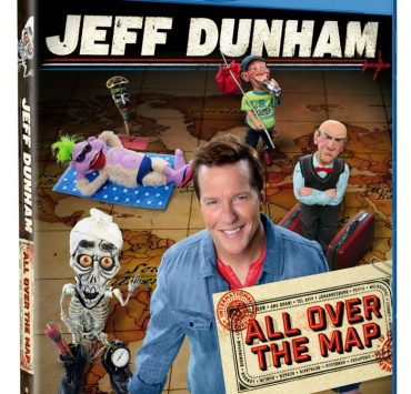 JEFF DUNHAM ALL OVER THE MAP Blu-ray Cover Artwork