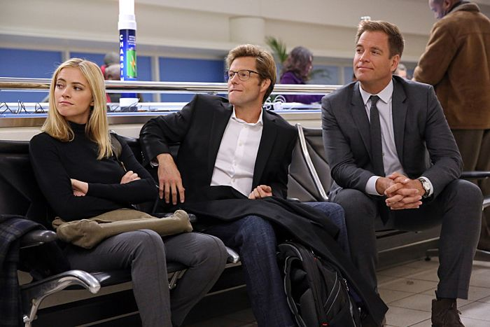 Michael Weatherly, Emily Wickersham, Jamie Bamber NCIS