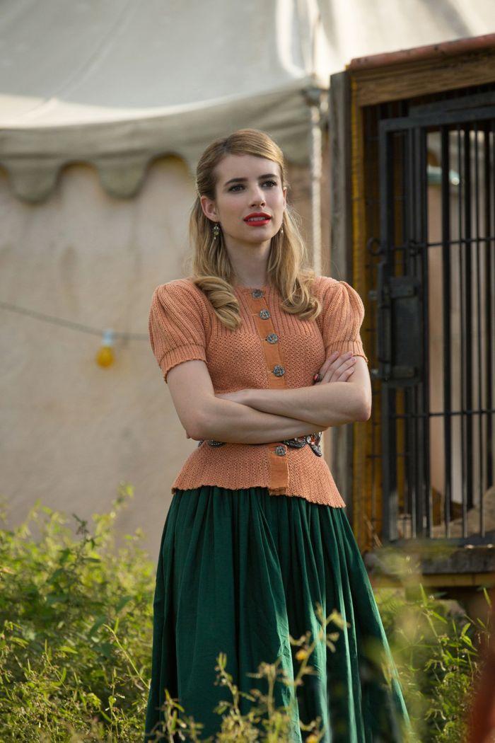 Emma Roberts as Maggie Esmerelda American Horror Story Freak Show