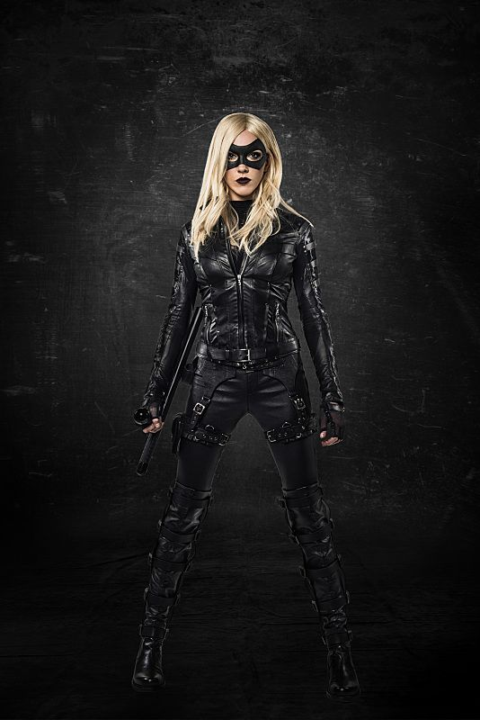 Katie Cassidy as Black Canary Arrow