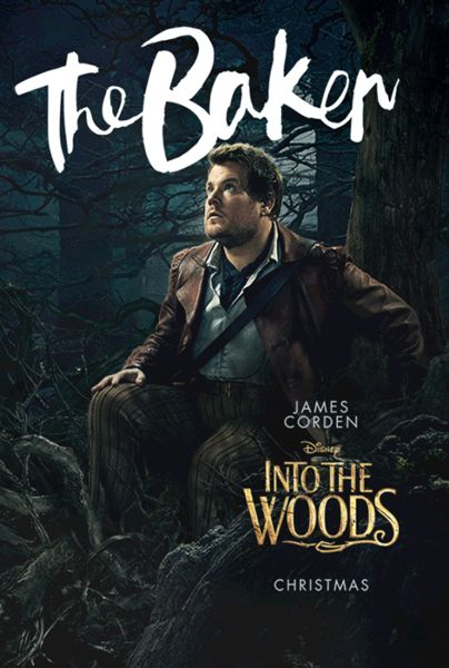 Into The Woods The Baker James Corden