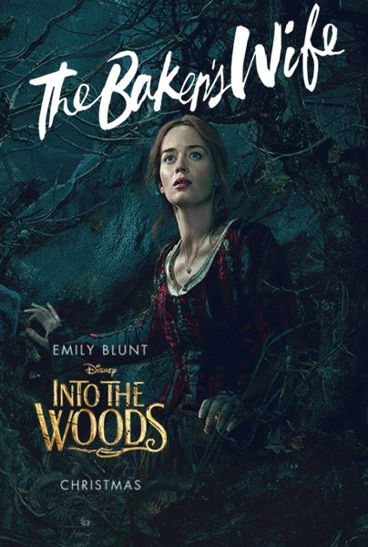 Into The Woods The Bakers Wife Emily Blunt