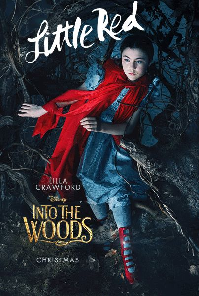 Into The Woods Little Red Lilla Crawford