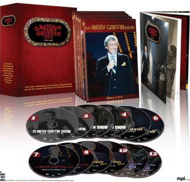 THE MERV GRIFFIN SHOW DVD 1962-1986