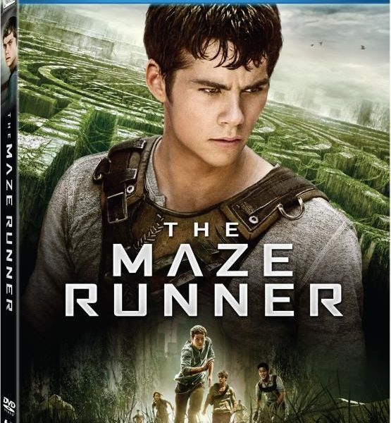 The Maze Runner Bluray Box Cover Case