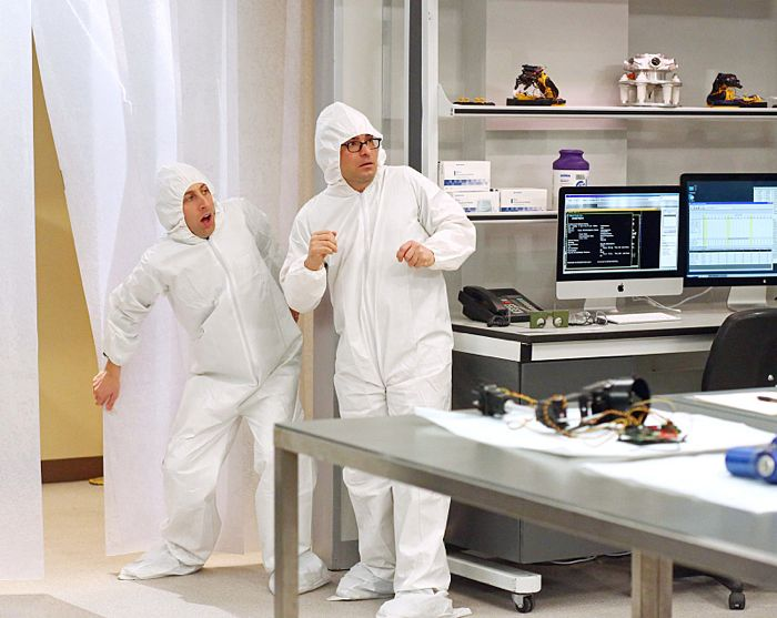 The Clean Room Infiltration