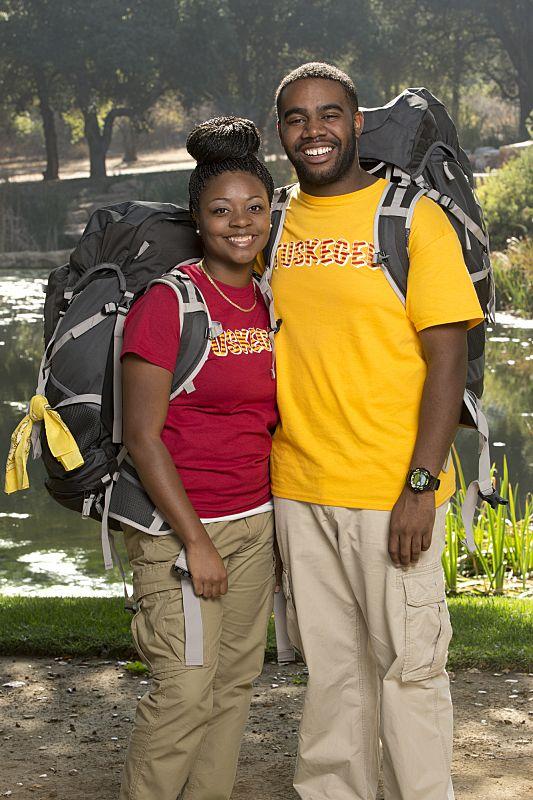 Lebya Simpson & CJ Harris of THE AMAZING RACE