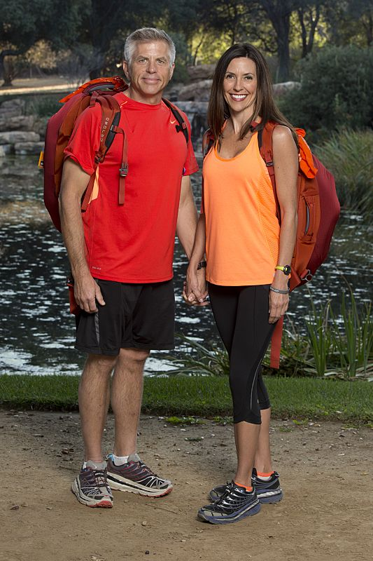 Jeff Magee & Lyda Grawn of THE AMAZING RACE